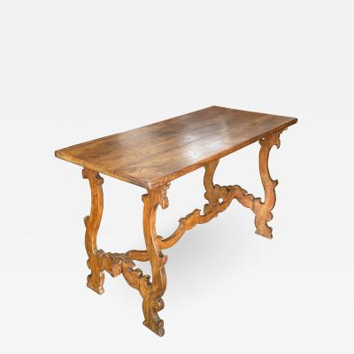 Italian walnut table Circa 1850