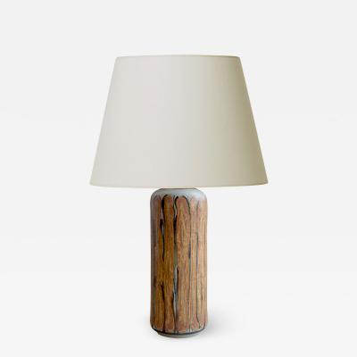 Ivan Weiss Table Lamp with Intriguing Organic Slip Design by Ivan Weiss