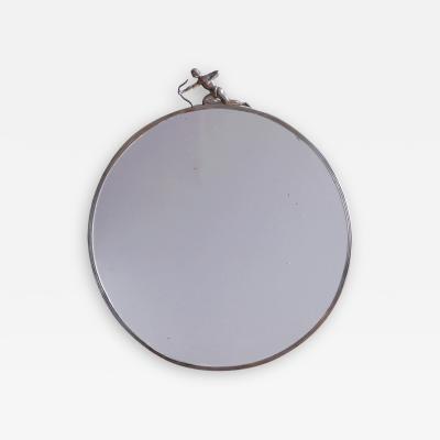 Ivar Johnsson Swedish Grace Pewter Mirror by Ivar Johnsson