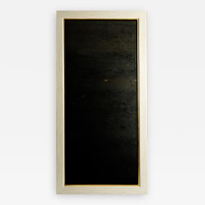 Ivory antique mirror
