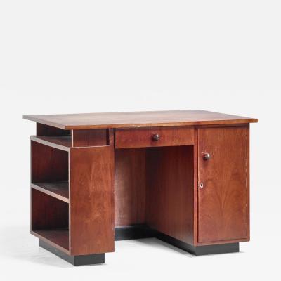 J A Muntendam J A Muntendam desk and stool Dutch 1920s 30s
