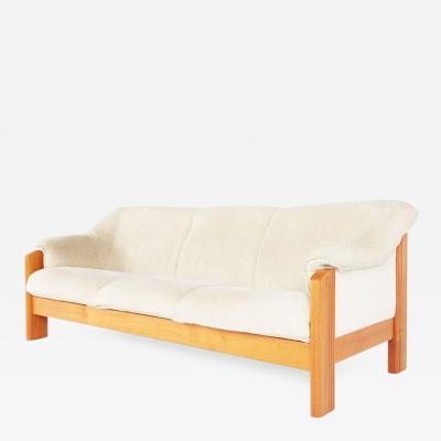 J E Ekornes J E Ekornes Norwegian Teak Frame Three Seat Sofa circa 1970