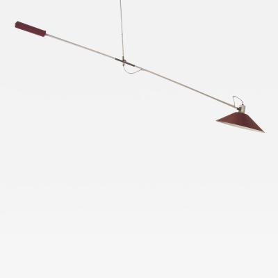 J J M Hoogervorst Counter balance ceiling lamp by J J M Hoogervorst