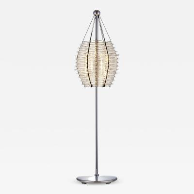 J L Lobmeyr Basket Floor Lamp by Marco Dess