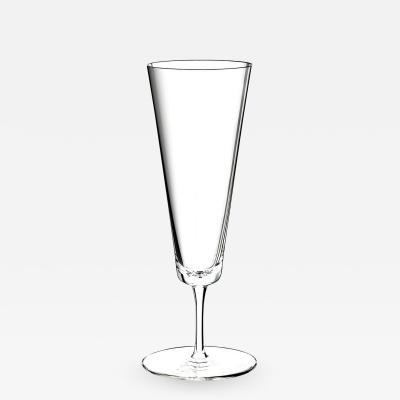 J L Lobmeyr Commodore Set No 257 Champagne Flute by Oswald Haerdtl