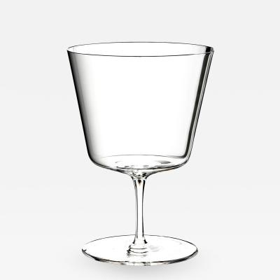 J L Lobmeyr Commodore Set No 257 Water Goblet by Oswald Haerdtl