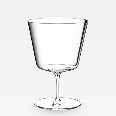 J L Lobmeyr Commodore Set No 257 Wine Glass I by Oswald Haerdtl