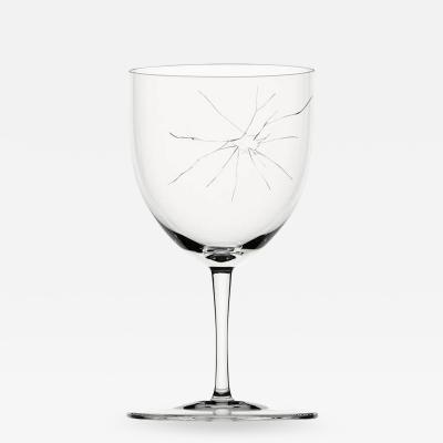 J L Lobmeyr Crack C Goblet by Murray Moss