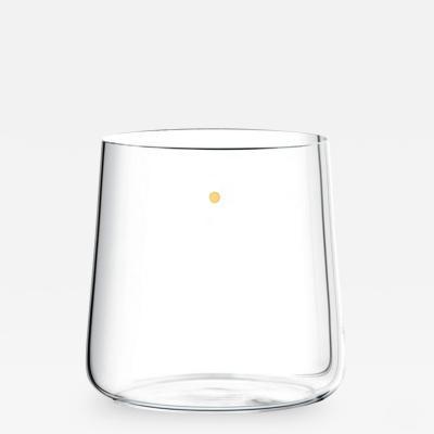 J L Lobmeyr Fortune Set No 283 Tumbler with Gold Dot by Mark Braun