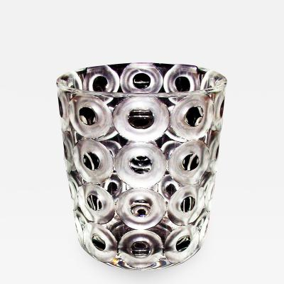 J L Lobmeyr Hoffmann Ring Vase by Josef Hoffmann