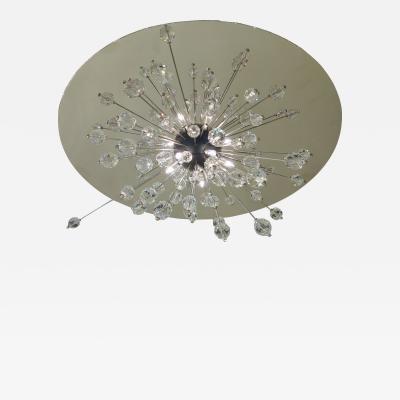 J L Lobmeyr Metropolitan Mini Sputnik Flush Ceiling Light