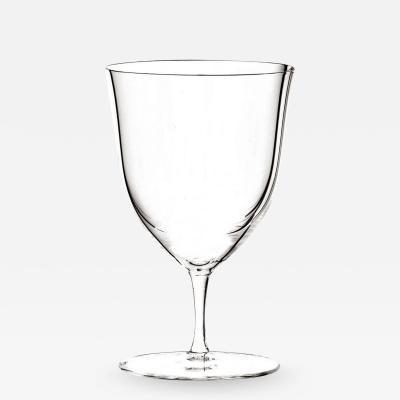 J L Lobmeyr Patrician Drinking Set No 238 Water Goblet by Josef Hoffmann