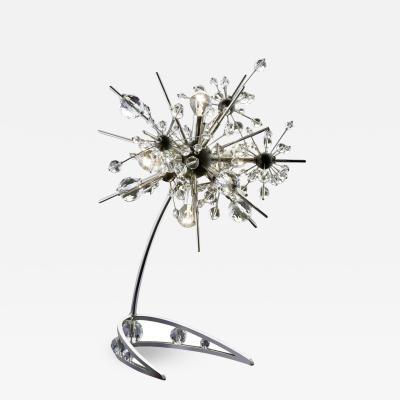 J L Lobmeyr Starburst Table Lamp by Johannes Rath