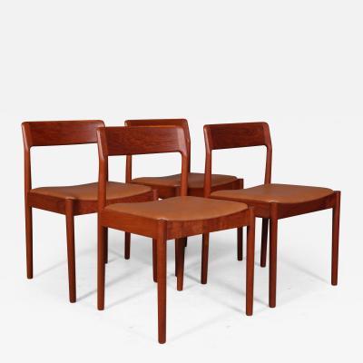 J N rgaard Johannes N rgaard Set of four chairs 4