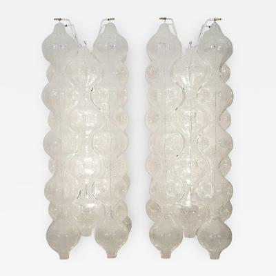 J T Kalmar Pair of Massive Kalmar Tulipan Sconces Multiple Available