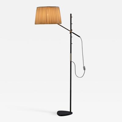 J T Kalmar Pelikan floor lamp by J T Kalmar Austria 1950s