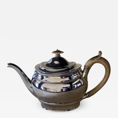 J T Younge Walker George III Jubilee Teapot 1807