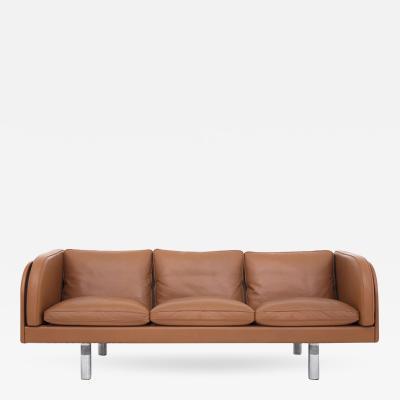 J rgen Gammelgaard EJ 20 3 Sofa in Cognac Leather