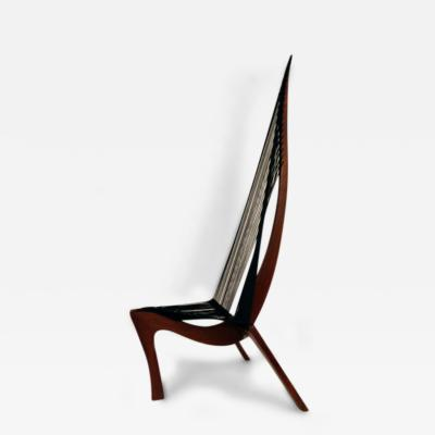 J rgen H velskov Harp Chair Attributed to Jorgen Hovelskov