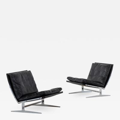 J rgen Kastholm Preben Fabricius Easy Chairs Model Bo 561 Produced by Bo Ex in Denmark