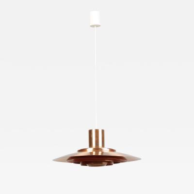 J rgen Kastholm Preben Fabricius Fabricius Kastholm Ceiling Lamp Copper P 376