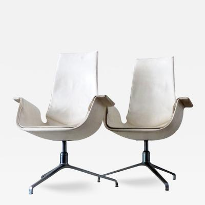 J rgen Kastholm Preben Fabricius Set of 2 Bird Chairs FK 6725 by Fabricius and Kastholm
