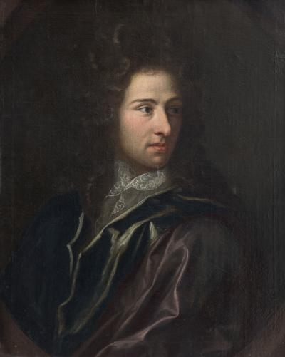 JAN HENRIK BRANDON LATE 17TH CENTURY PORTRAIT OF A GENTLEMAN 1696