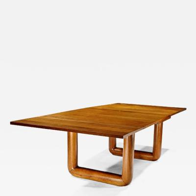 JEAN ROY RE French Oak Dining Table with Extension Leaves by Jean Royere