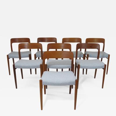 JL Moller Teak Dining Chairs