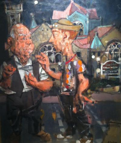 Jack Levine Euclid Avenue 1950