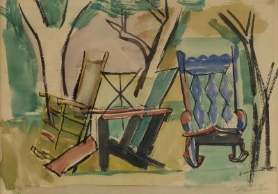 Jack Tworkov Garden Chairs