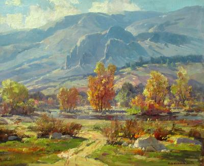 Jack Wilkinson Smith Autumn Morning Foothills of the Sierras