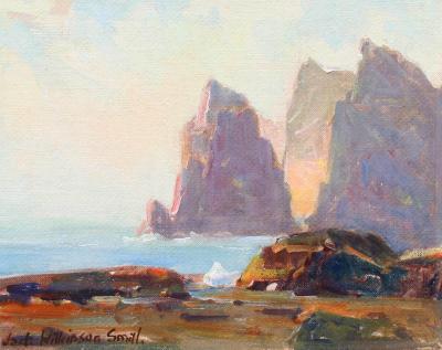 Jack Wilkinson Smith Coastal Scene