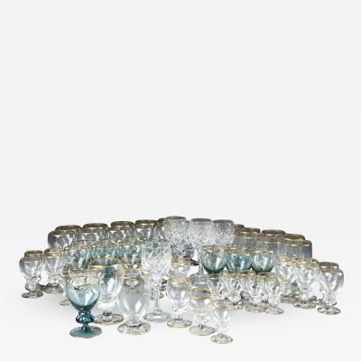 Jacob Bang A Collection of Gisselfeldt glass