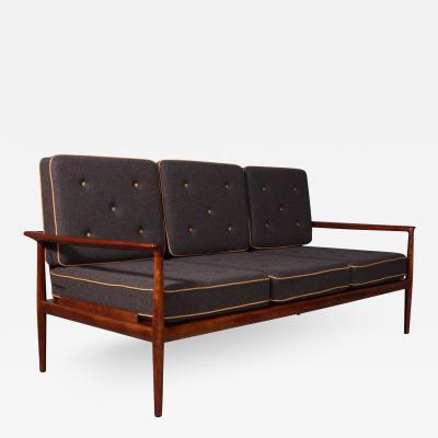 Jacob Kj r Jacob Kjaer Jacob Kjaer Mahogany sofa 1940s 50s