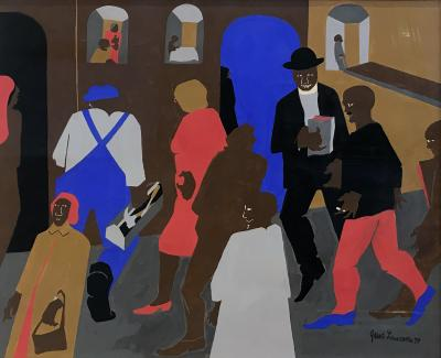 Jacob Lawrence Windows
