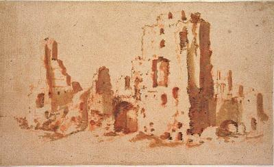 Jacob Van der Ulft The Baths of Caracalla