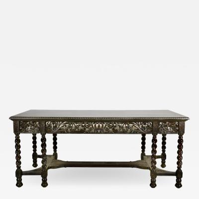 Jacobean Revival Library Table