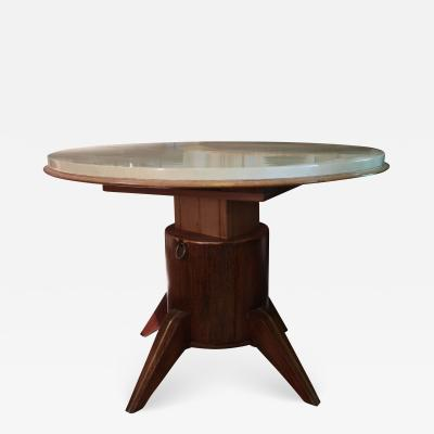 Jacques Adnet A dinning table attributed to Jacques Adnet France 50