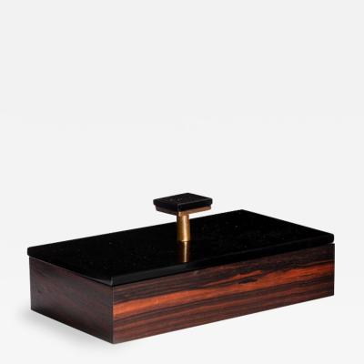 Jacques Adnet Attributed to Jacques ADNET Boxes Circa 1940