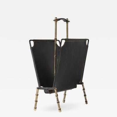 Jacques Adnet Book Rack By Jacques Adnet