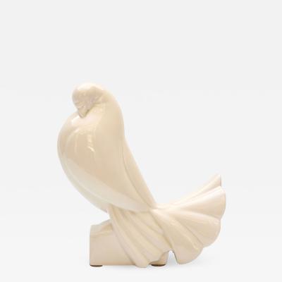 Jacques Adnet Ceramic Turtledove 1925