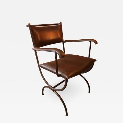 Jacques Adnet Desk Armchair France 1950s