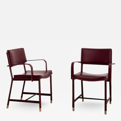 Jacques Adnet JACQUES ADNET ARMCHAIRS