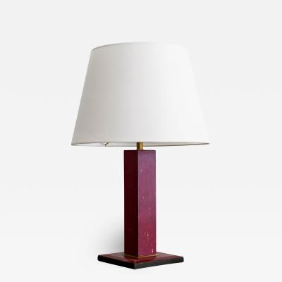Jacques Adnet JACQUES ADNET STYLE TABLE LAMP