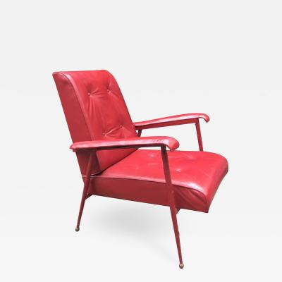 Jacques Adnet Jacques Adnet 1900 1984 Armchair Of Rest Circa 1950