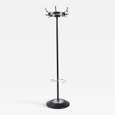 Jacques Adnet Jacques Adnet Chrome Coat Rack France 1950