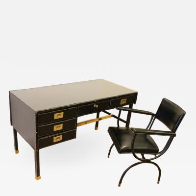 Jacques Adnet Jacques Adnet Desk and chair