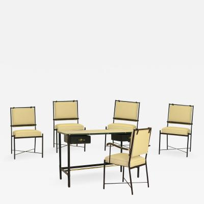 Jacques Adnet Jacques Adnet Exceptional Desk Set
