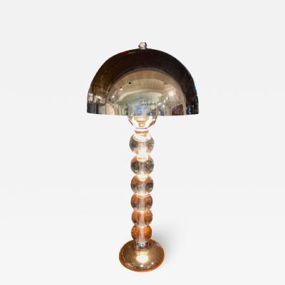 Jacques Adnet Jacques Adnet French Art Deco Machine Age Art Deco Lamp